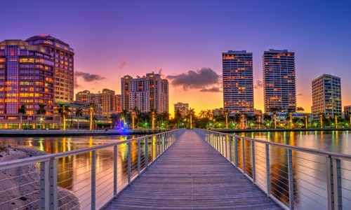 West Palm Skyline
